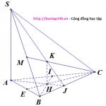 Đường thẳng vuông góc mặt phẳng