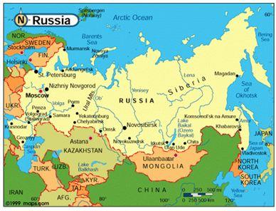 Liên Xô và các nước Đông Âu (1945 - 1991) Liên Bang Nga (1991 - 2000)