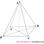 Bài tập trắc nghiệm thể tích hình chóp, khối chóp