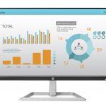HP giới thiệu màn hình lớn giá rẻ sành điệu cho văn phòng mới