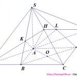 Bài tập nâng cao đường thẳng vuông góc với mặt phẳng hướng dẫn giải