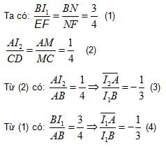 Phương pháp chứng minh ba  đường  thẳng đồng qui