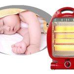 Cách dùng quạt sưởi cho trẻ sơ sinh