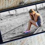 Hướng dẫn tạo hiệu ứng vùng ảnh màu với nền đen trắng trên Smartphone