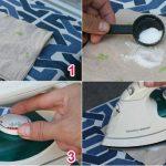 Mẹo hay giúp loại bỏ sạch vết vải cháy trên đế bàn ủi