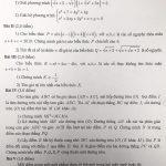Đề thi và đáp án chi tiết môn toán thi vào lớp 10 Chuyên toán Amsterdam