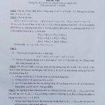 Đề thi và lời giải chi tiết môn toán chuyên sư phạm Hà Nội vòng 2